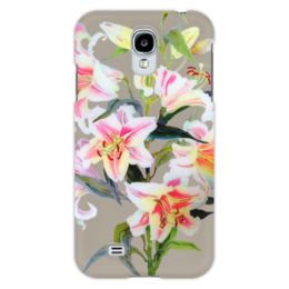 "Чехол для Samsung Galaxy S4 ""Лилия."" - цветы, flowers, лилия, lily"