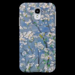 """Чехол для Samsung Galaxy S4 """"Весна"""" - красиво, девушке, цветочки, апрель, в саду"""