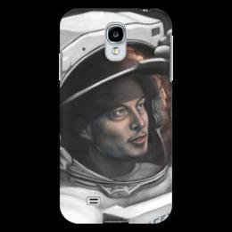 "Чехол для Samsung Galaxy S4 ""SpaceX"" - космос, маск, spacex, вселенная, thespaceway"