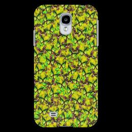 """Чехол для Samsung Galaxy S4 """"Ornithoptera"""" - бабочки, природа, текстура, фон"""