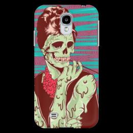 "Чехол для Samsung Galaxy S4 ""Одри Хепберн (зомби)"" - skull, череп, зомби, одри хепберн, икона стиля"