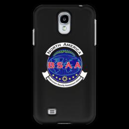 "Чехол для Samsung Galaxy S4 ""Resident Evil. BSAA"" - resident evil, umbrella, re, bsaa, racoon city"