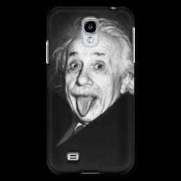 """Чехол для Samsung Galaxy S4 """"Эйнштейн"""" - знаменитости, физика, эйнштейн, ученые, albert einstein, physicist, einstein"""