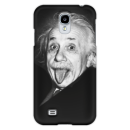 "Чехол для Samsung Galaxy S4 ""Эйнштейн"" - знаменитости, albert einstein, физика, эйнштейн, einstein, ученые, physicist"