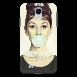 "Чехол для Samsung Galaxy S4 ""Одри Хепбёрн"" - audrey hepburn, одри хепбёрн"