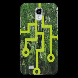 """Чехол для Samsung Galaxy S4 """"Лесные тропы"""" - стиль, лес, дороги"""