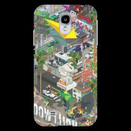 """Чехол для Samsung Galaxy S4 """"ЛОС-АНДЖЕЛЕС"""" - los angeles, la, лос-анджелес"""