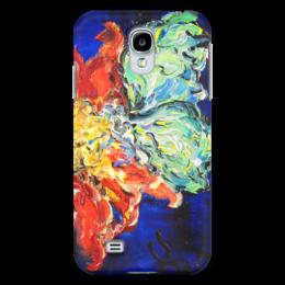 "Чехол для Samsung Galaxy S4 ""Нектар"" - бабочка, flower, весна, butterfly, цветочек"