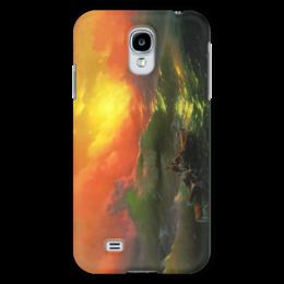 "Чехол для Samsung Galaxy S4 ""Девятый вал (картина Айвазовского)"" - картина, айвазовский"