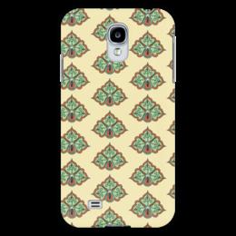 """Чехол для Samsung Galaxy S4 """"Цветочный"""" - узор, стиль, рисунок, цветочный, орамент"""