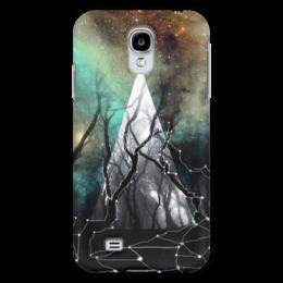 """Чехол для Samsung Galaxy S4 """"Ночной лес"""" - космос, ночь, деревья, ufo, witchouse"""