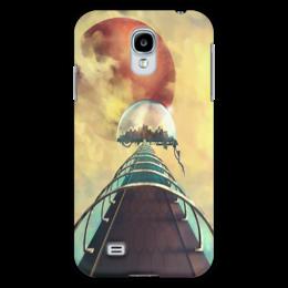 "Чехол для Samsung Galaxy S4 ""Art ""Мост в Большой купол"""" - арт, city, future"