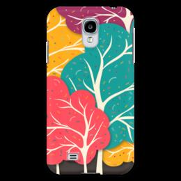 "Чехол для Samsung Galaxy S4 ""Веселый Лес"" - лес, природа, дерево, forest, trees"