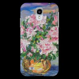 """Чехол для Samsung Galaxy S4 """"Пионы"""" - весна, сад, девушке, цветочки, май"""