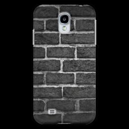 "Чехол для Samsung Galaxy S4 ""Кирпичный"" - узор, рисунок, стена, камень, кирпич"