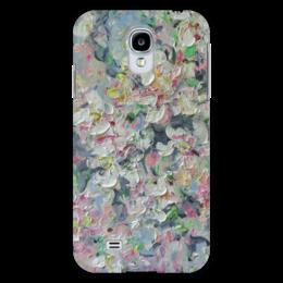 "Чехол для Samsung Galaxy S4 ""Яблонька"" - красиво, подарок, цветочки, май, яблоня"