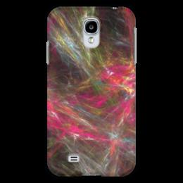 """Чехол для Samsung Galaxy S4 """"Абстрактный дизайн"""" - графика, абстракция, линии, авангард, лучи"""