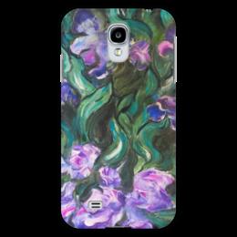 "Чехол для Samsung Galaxy S4 ""Ирисы"" - лето, цветы, summer, purple"