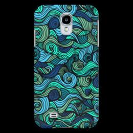 """Чехол для Samsung Galaxy S4 """"Волнистый"""" - узор, стиль, волна, орнамент, абстракция"""