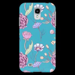 """Чехол для Samsung Galaxy S4 """"Цветочное настроение"""" - цветы, арт, цветочное настроение"""