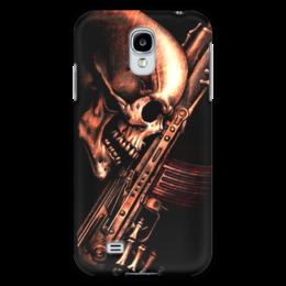 "Чехол для Samsung Galaxy S4 ""ДО КОНЦА!!!"" - skull, череп, weapon, автомат, ак"