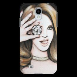 """Чехол для Samsung Galaxy S4 """"LanaDelRey"""" - портрет, певица, lana del rey, лана дель рей"""