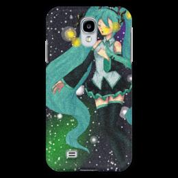 """Чехол для Samsung Galaxy S4 """"Хатсуне Мику"""" - мику хацунэ, виртуальная певица, japan, hatsune miku, humanoid"""