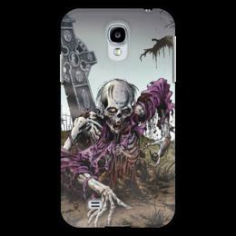 "Чехол для Samsung Galaxy S4 ""Мертвец (зомби)"" - хэллоуин, zombie, зомби, скелет, мертвец"