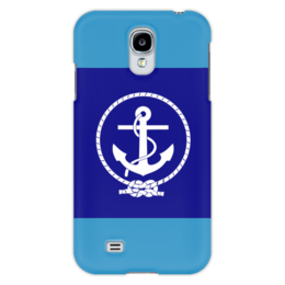 "Чехол для Samsung Galaxy S4 ""Морской разведчик"" - море, якорь, канат"