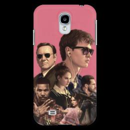 """Чехол для Samsung Galaxy S4 """"Baby Driver"""" - музыка, девушки, знаменитости, оружие, малыш на драйве"""