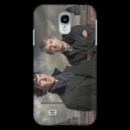 "Чехол для Samsung Galaxy S4 ""Шерлок и Джон"" - лондон, англия, сериал, холмс, ватсон"