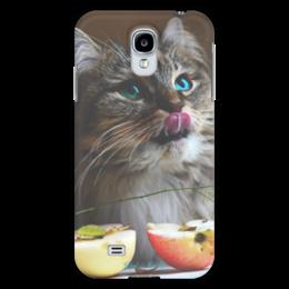 "Чехол для Samsung Galaxy S4 ""Glad & Curly "" - кошка, cat, котик, фотография"