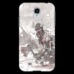 """Чехол для Samsung Galaxy S4 """"Вальхалла. Путь воина"""" - история, викинги, vikings, путь воина, норды"""