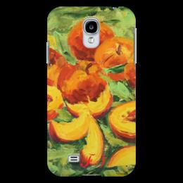 "Чехол для Samsung Galaxy S4 ""Сочные Персики"" - арт, bright, peaches"