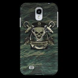 """Чехол для Samsung Galaxy S4 """"ФЛОТ!!!"""" - море, якорь, океан, флот, бескозырка"""