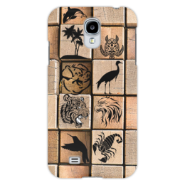 "Чехол для Samsung Galaxy S4 ""Удачные кадры"" - стиль, звери, морды"