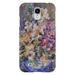 """Чехол для Samsung Galaxy S4 """"Винтаж"""" - винтаж, букет, ваза, под старину"""