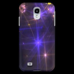 "Чехол для Samsung Galaxy S4 ""Световая фантазия"" - абстракция, свет, фантазия"