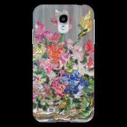 """Чехол для Samsung Galaxy S4 """"Букет"""" - арт, красота, подарок, цветочки, букет"""