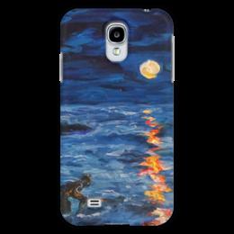 """Чехол для Samsung Galaxy S4 """"Цитадель"""" - night, море, ночь, луна, sea, moon"""