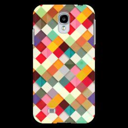 "Чехол для Samsung Galaxy S4 ""Африканский Узор - Самоцветы"" - узор, мозаика, mosaic, самоцветы"