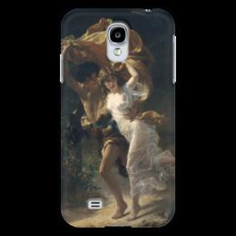 """Чехол для Samsung Galaxy S4 """"Буря (Пьер Огюст Кот)"""" - кот, картина"""