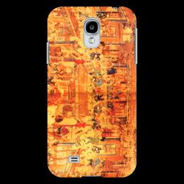 """Чехол для Samsung Galaxy S4 """"Шаолинь"""" - единоборства, кунг фу, ушу, китайские, восточные"""