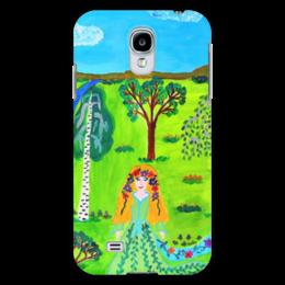 """Чехол для Samsung Galaxy S4 """"Мир волшебства"""" - ручная работа, детский рисунок, от детей, детская работа"""