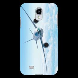 """Чехол для Samsung Galaxy S4 """"Самолет"""" - небо, романтика, самолеты, авиация, самолет в небе"""