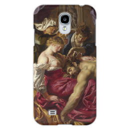 """Чехол для Samsung Galaxy S4 """"Самсон и Далила (картина Питера Пауля Рубенса)"""" - картина, библия, рубенс"""