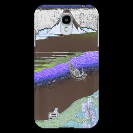 """Чехол для Samsung Galaxy S4 """"Пейзажи Японии"""" - стиль, гравюры, японские"""