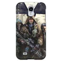 "Чехол для Samsung Galaxy S4 ""S.T.A.L.K.E.R. Чистое небо"" - игра, сталкер, фанат, stalker, чистое небо"