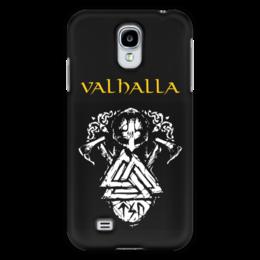 """Чехол для Samsung Galaxy S4 """"Вальхалла. Путь воина"""" - путь воина, свобода, викинги, воин, история"""