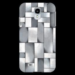 """Чехол для Samsung Galaxy S4 """"Композиция в сером"""" - картина, дусбург"""